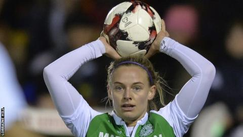 SWPL Cup: Late goals see Hibernian beat Hearts in Edinburgh derby