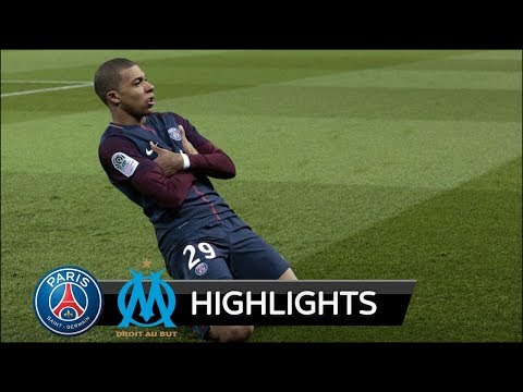 PSG vs Marseille 3-0 - All Goals & Extended Highlights - 25/02/2018 HD