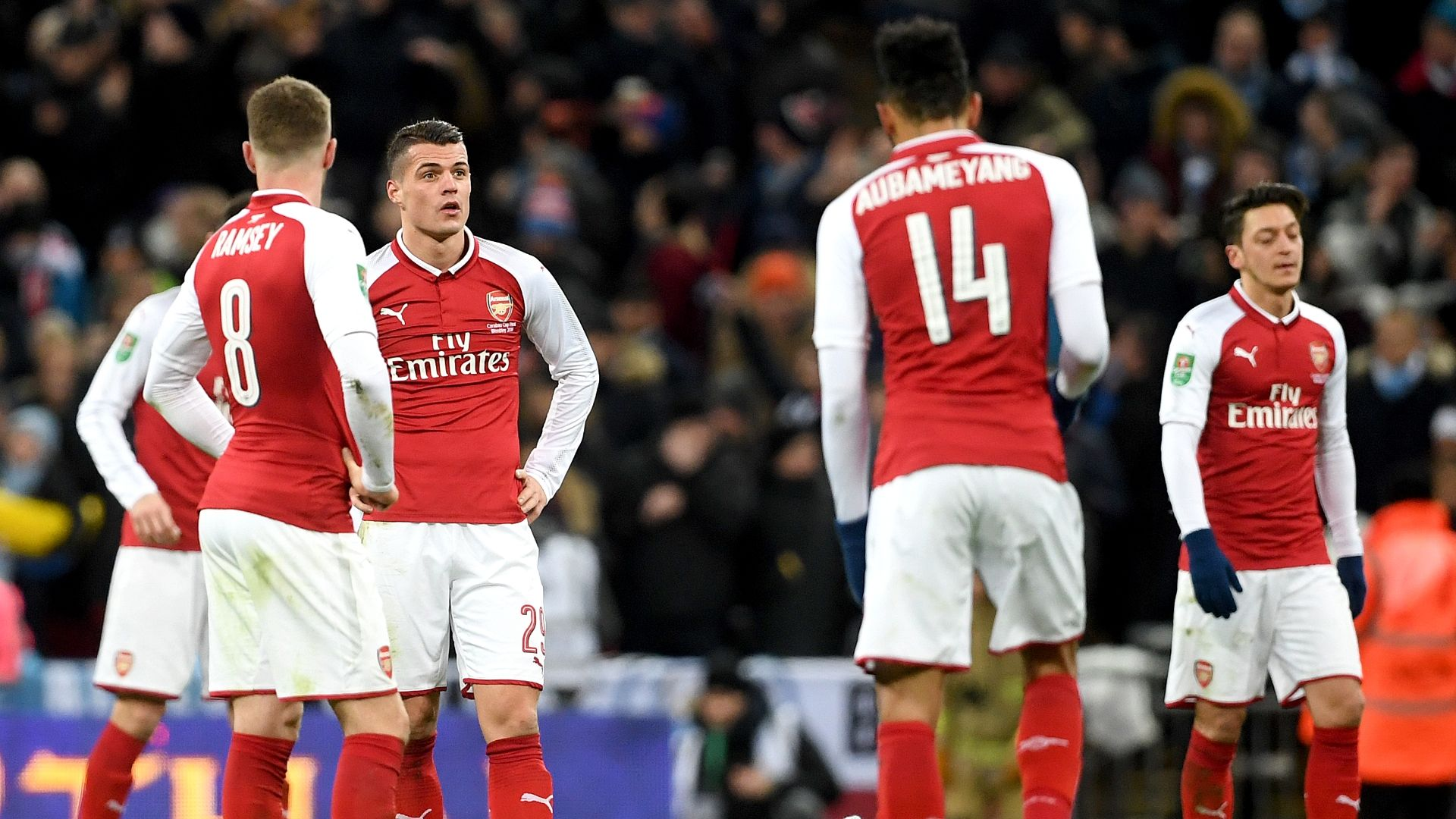 Neville rips 'spineless' Arsenal trio after loss