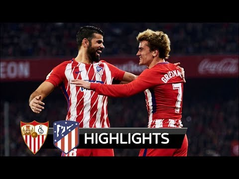 Sevilla vs Atletico Madrid 2-5 - All Goals & Extended Highlights - La Liga 25/02/2018 HD