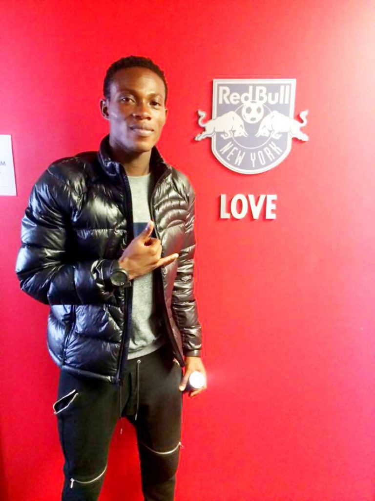 Former Inter Allies defender Wahab Ackwei completes move to MLS side New York Red Bull