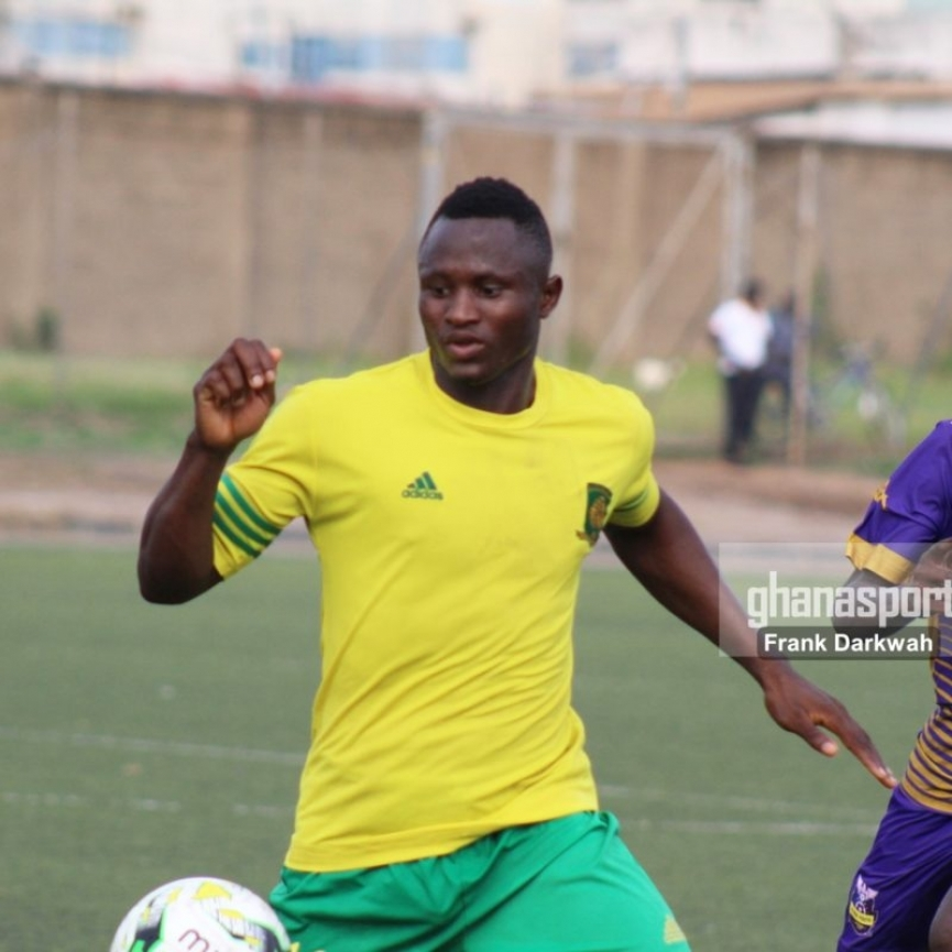 Hearts of Oak sign free agent striker Joseph Esso formerly of Ebusua Dwarfs