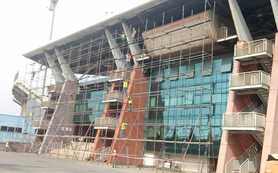Accra Sports Stadium handed massive facelift as renovation finally commences