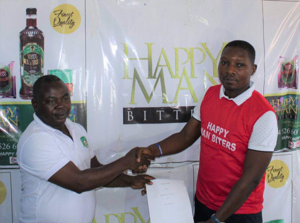 Happy Man Bitters signs one-year sponsorship deal with Aduana Stars