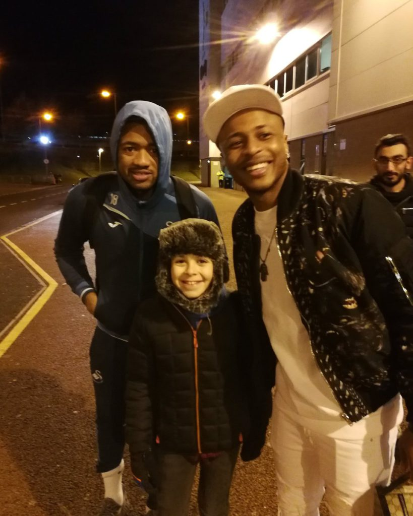 Benevelont Ayew brothers make day of young fan after victory over Burnley