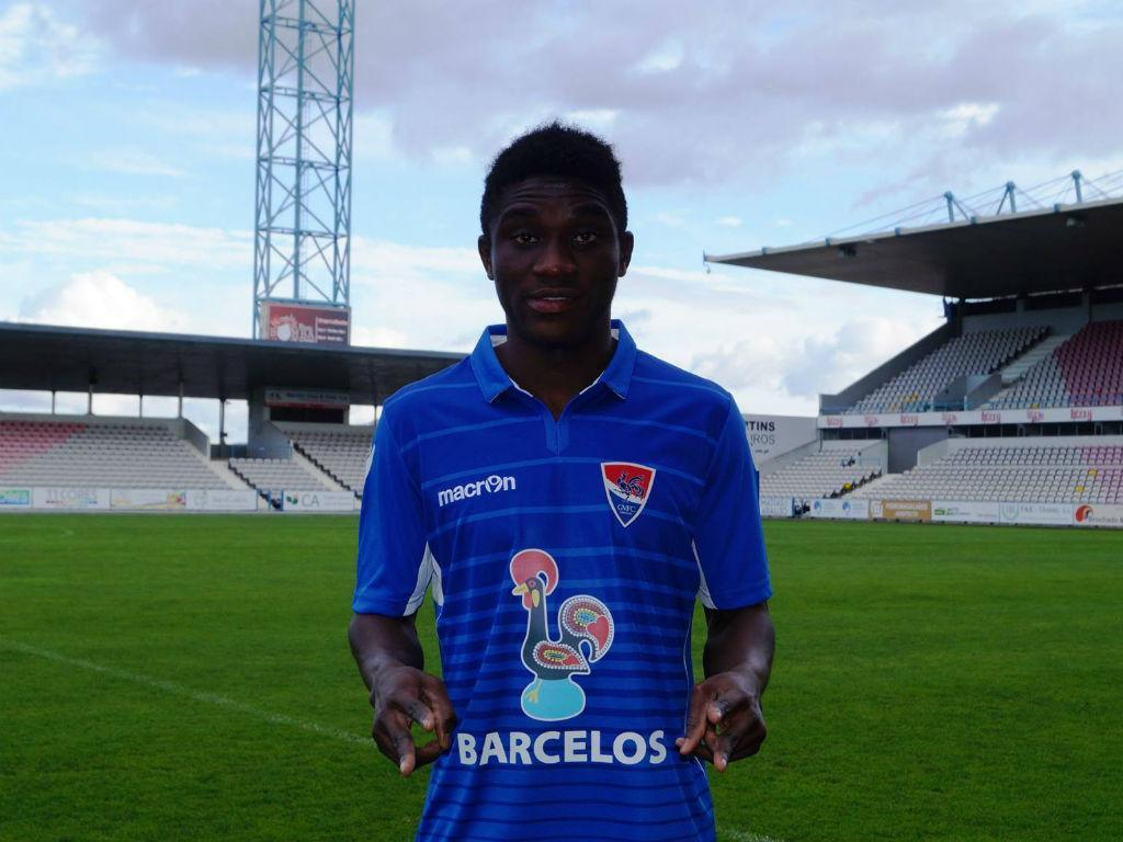 Portuguese second-tier side Gil Vicente sign Ghanaian youngster James Arthur