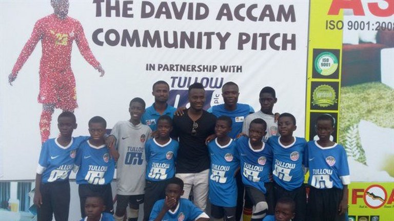 Ghana forward David Accam reveals why he joined COMMON GOAL