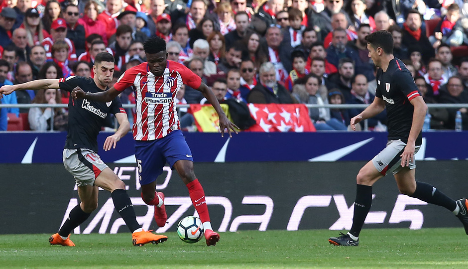 Thomas Partey excels as Atletico Madrid claim deserved victory over Athletic Bilbao