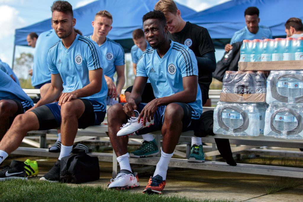 On-loan Ebenezer Ofori eyes 'new chapter at big club New York City FC'