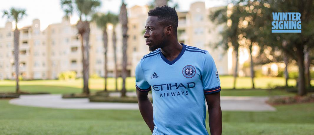 Ebenezer Ofori tastes victory on MLS debut as New York City FC beat La Galaxy