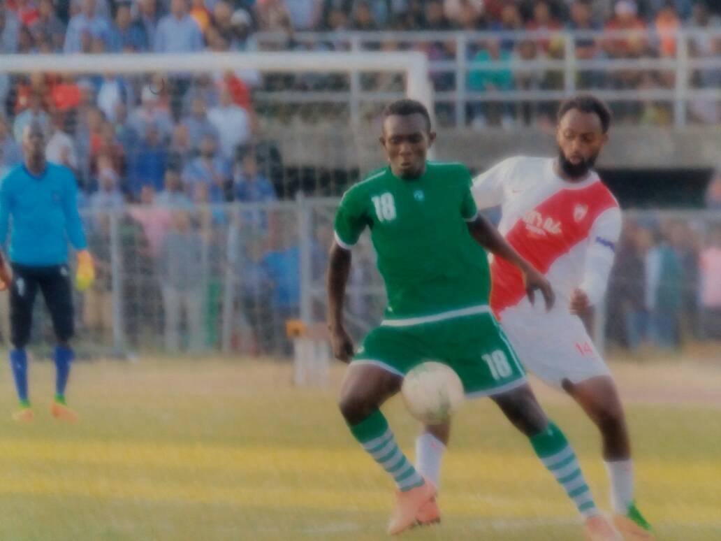 Ex-Medeama star Bismark Oppong weaving magic for Ethiopian side Mekelle Kenema City