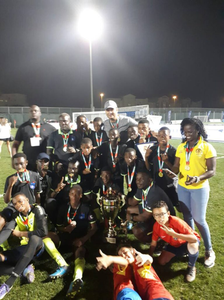 High flying Lizzy Sports Academy beat Real Madrid on penalties to win 2018 Dubai International Cup