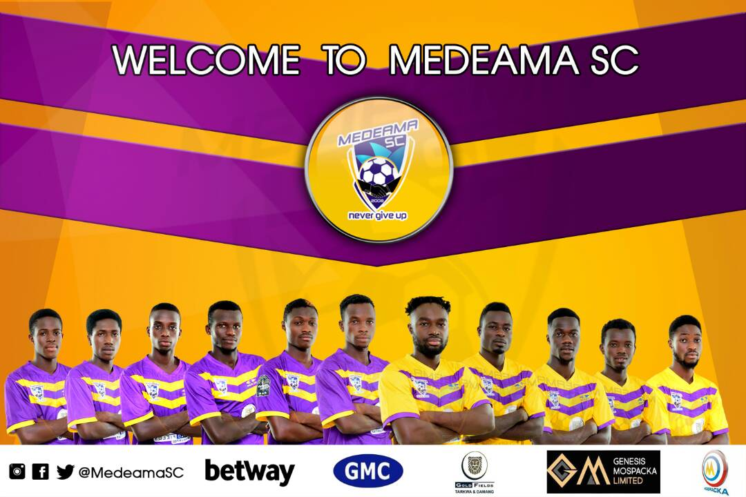 Medeama announce 11 new signings ahead of new Premier League season