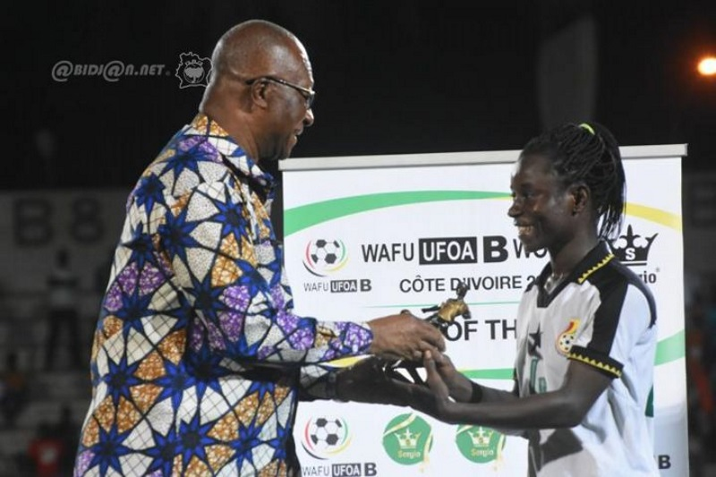Women WAFU Nations Cup: Ghana defender Janet Egyir wins Best Player of the tournament