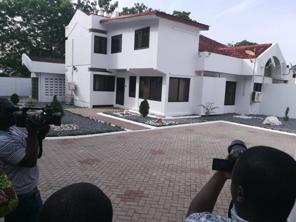 Government hands over 3 bedroom accommodation to Black Stars coach, $96k a year saved