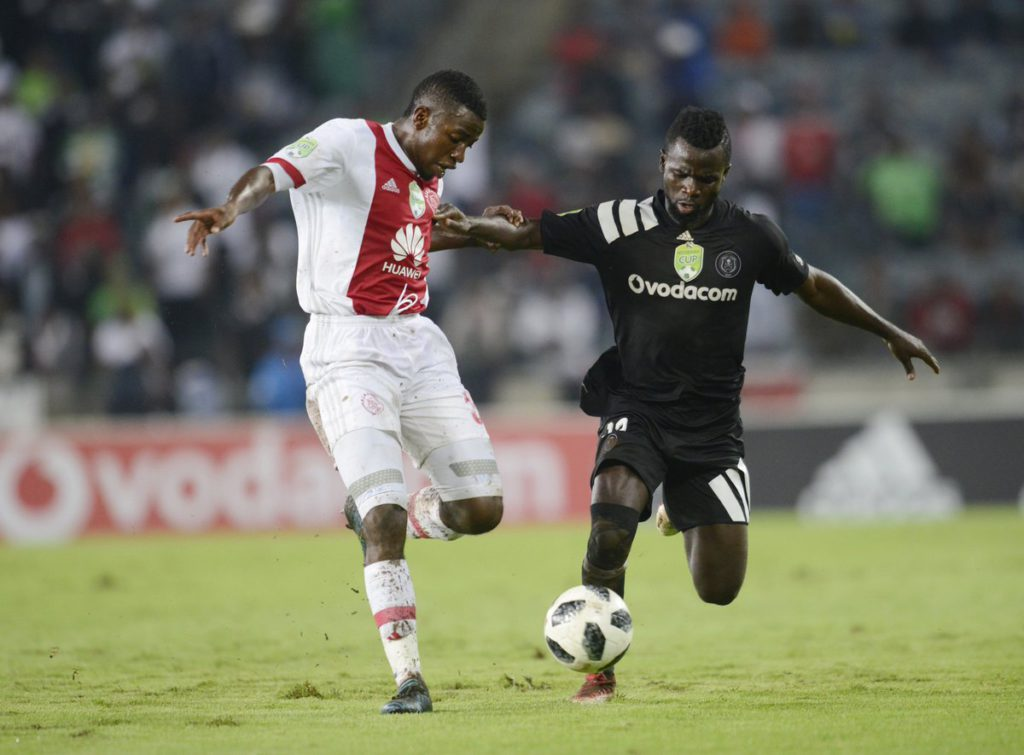 Ghanaian forward Bernard Morrison back on top of his game at Orlando Pirates