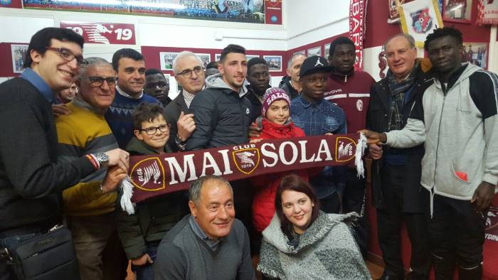 The chilling story of Moses Odjer:  from Ghana to  Salernitana, dreaming of Europe