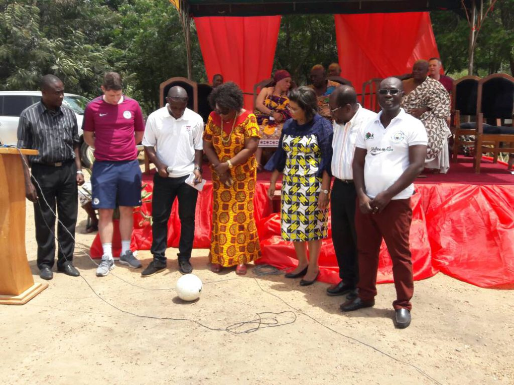 Play Soccer Ghana collaborates with EPL side Man City to launch 'Kicking for Change' program