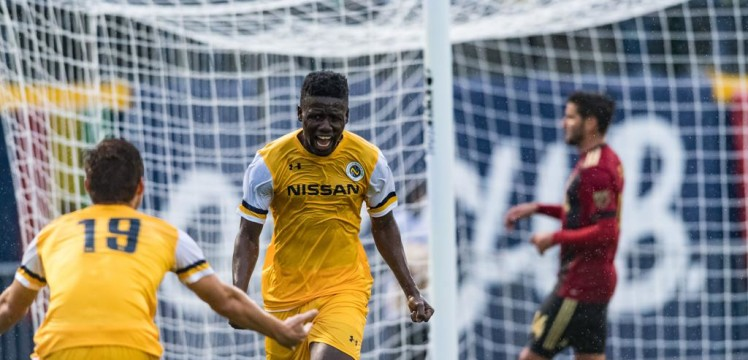 Ropapa Mensah nominated for American USL Young Player of the Year Awards