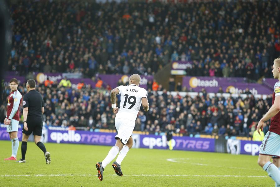 Ghana star Andre Ayew happy with winning return to Swansea City