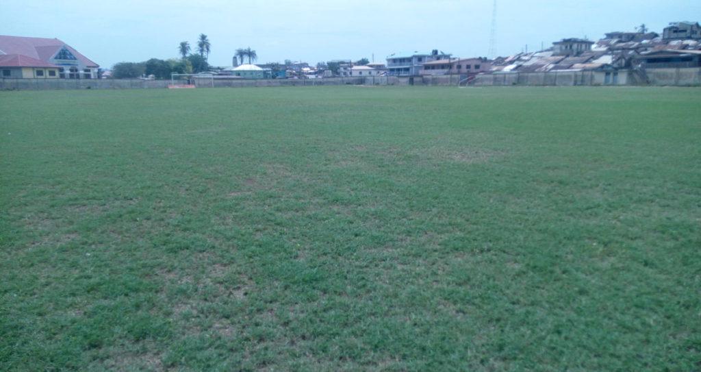 Tarkwa and Aboso pitch undergoes re-grassing ahead of Medeama's new season