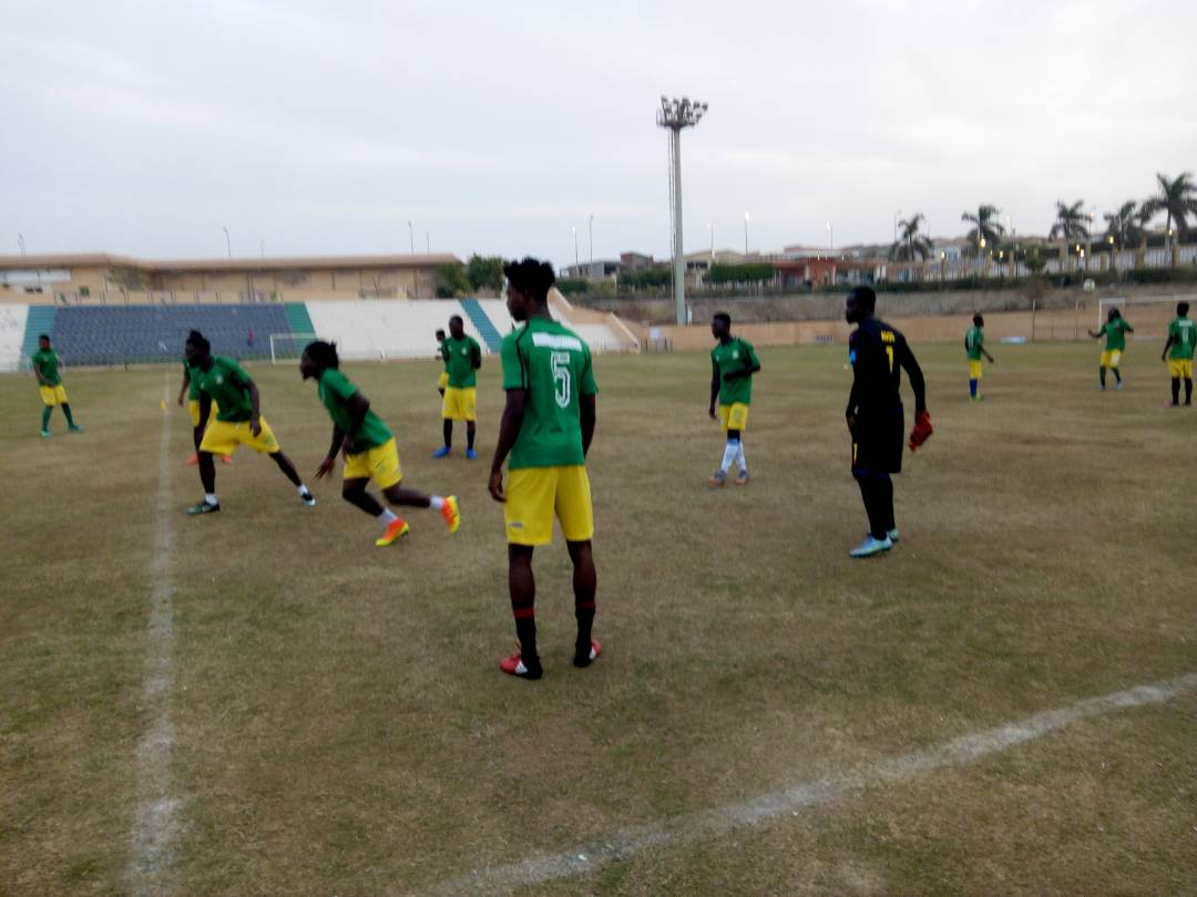 Aduana Stars hold first training session in Egypt ahead of Al Tahaddy clash
