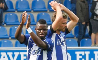 Mubarak Wakaso left out of Deportivo Alavés win against Deportivo La Coruna for technical reasons