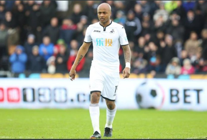 Cup-tied Andre Ayew to miss Swansea City FA Cup match against Sheffield Wednesday