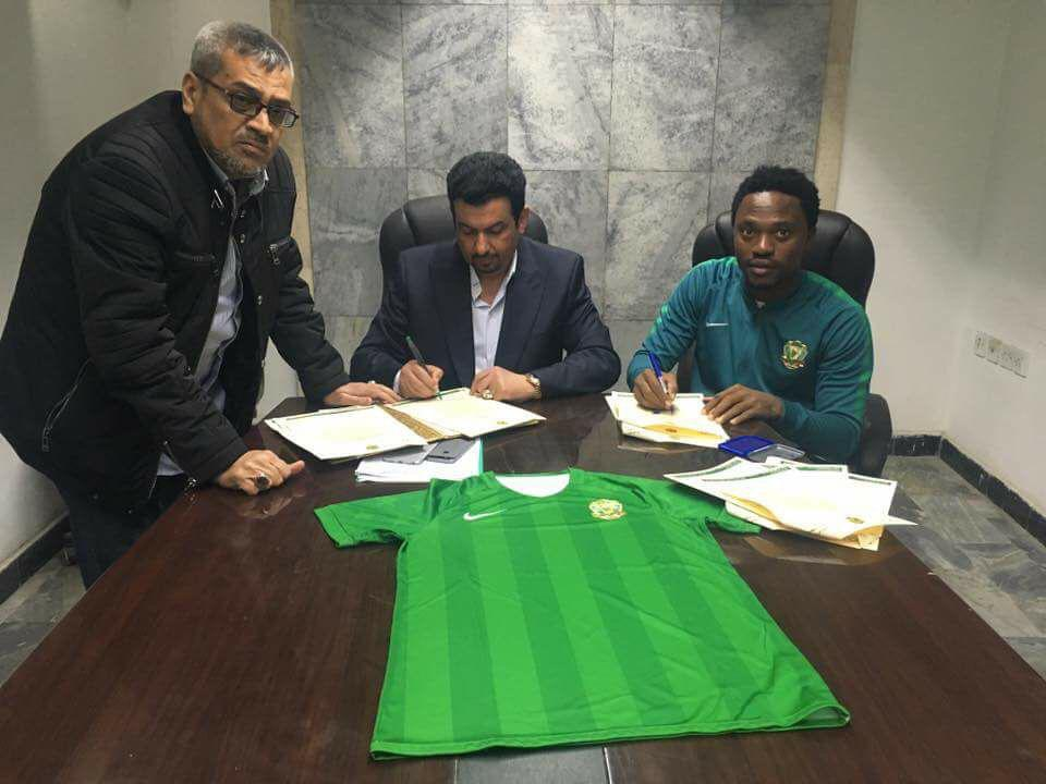 "Newly signed Al Shorta midfielder Asiedu Attobrah: ""Iraq is not a war torn country"""