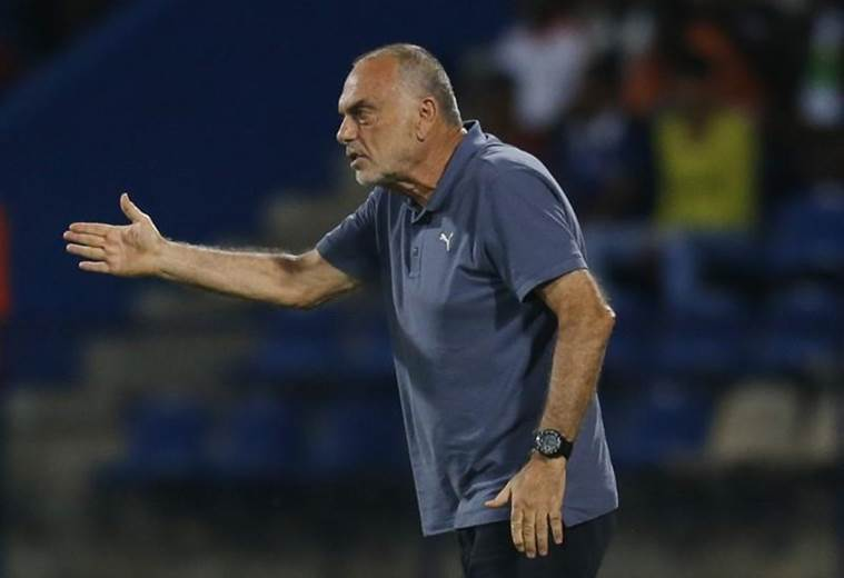 Ex-Ghana coach Avram Grant slams referees after being sent to stands in Indian Super League match