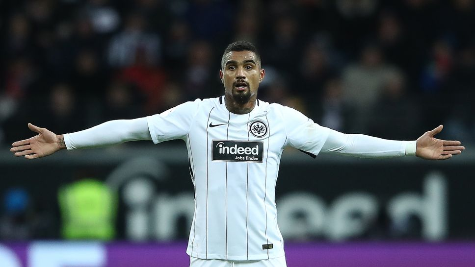 Eintracht Frankfurt's Prince Boateng calls for focus as race for top four finish duels on