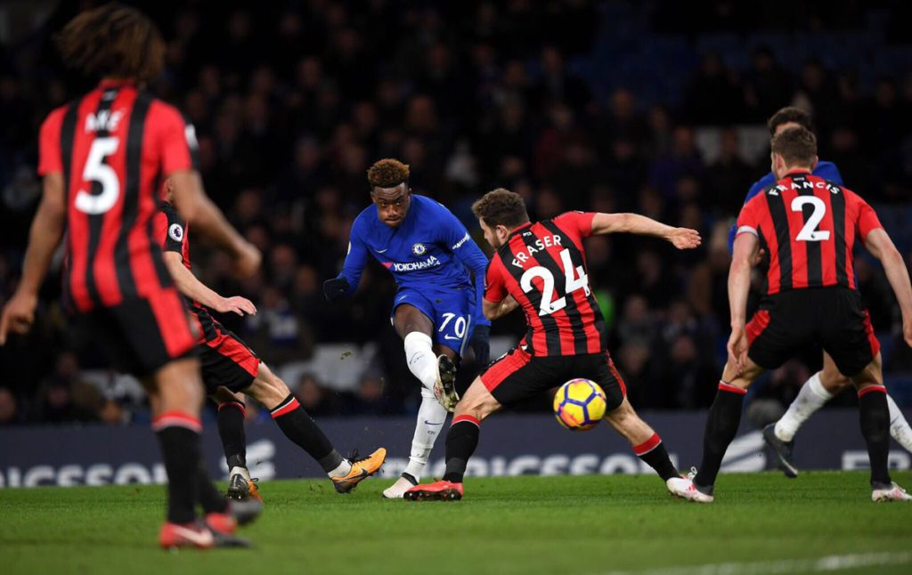 Ghanaian youngster Callum Hudson-Odoi fumes after suffering defeat on his Chelsea debut