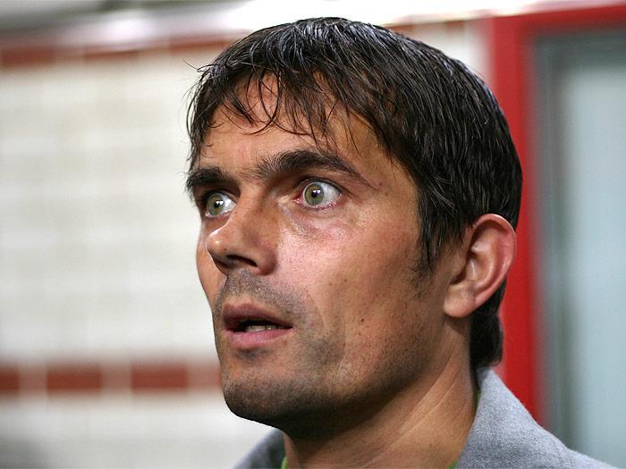 PSV gaffer Philip Cocu mopes over Lumor's slip to Portugues side Sporting Lisbon