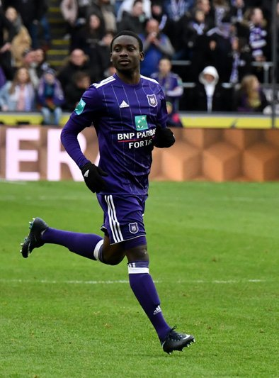 Sascha Empacher insists Dauda Mohammed Dauda has outgrown Anderlecht youth set-up