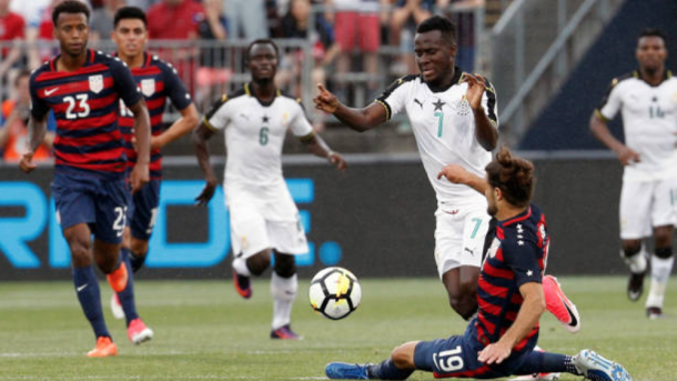 Ghana attacker David Accam's Common Goal pledge hopes to find more African heroes
