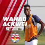 Former Inter Allies defender Wahab Ackwei parts ways with USL side New York Red Bulls II