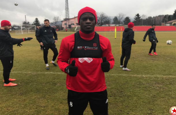 Ghana winger Edwin Gyasi starts training with CSKA Sofia
