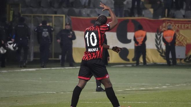 Elvis Manu expresses delight over scoring for Gençlerbirliği on injury return