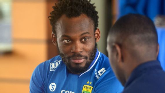 Injured Michael Essien's future at Persib Bandung thrown wide open