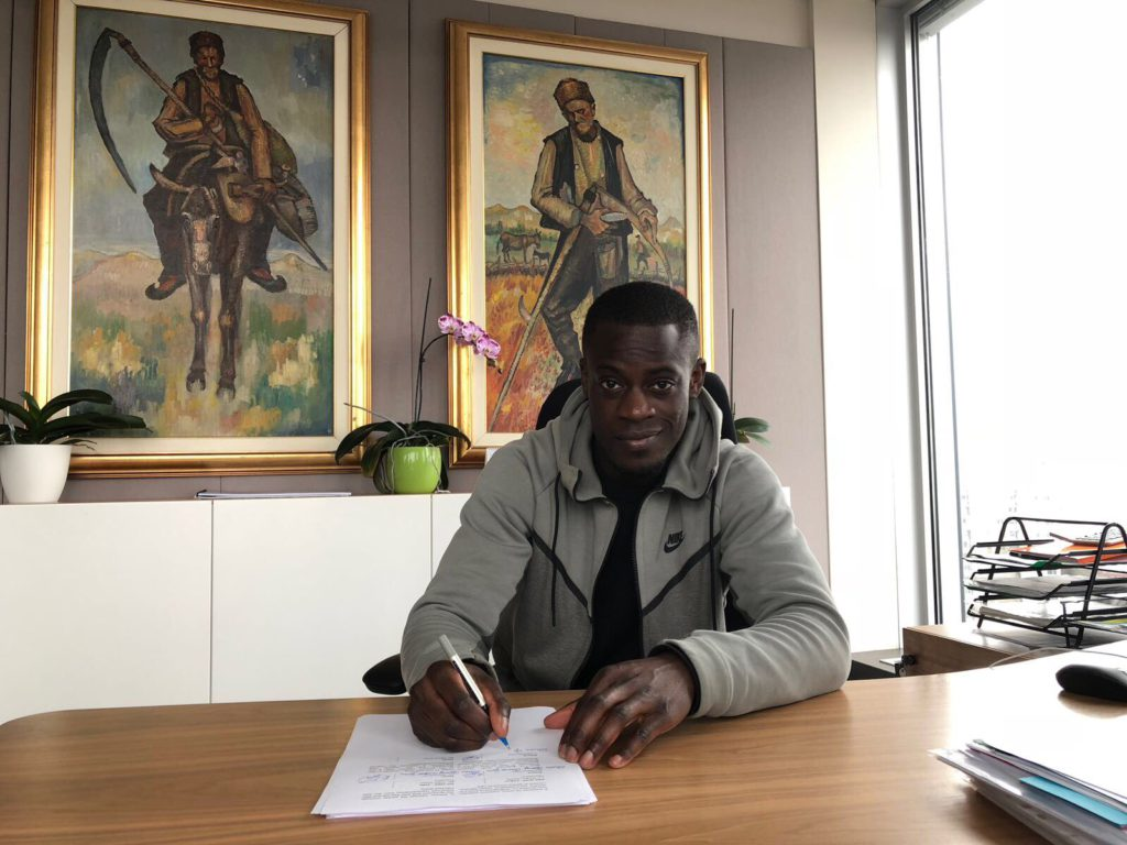 Ghana ace Edwin Gyasi snubs offers from Brighton, Fulham and Norwich to join CSKA Sofia