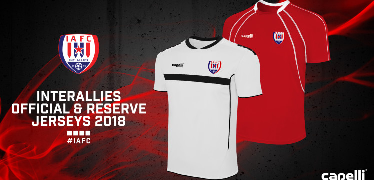 Inter Allies unveil new jerseys for upcoming Ghana League season