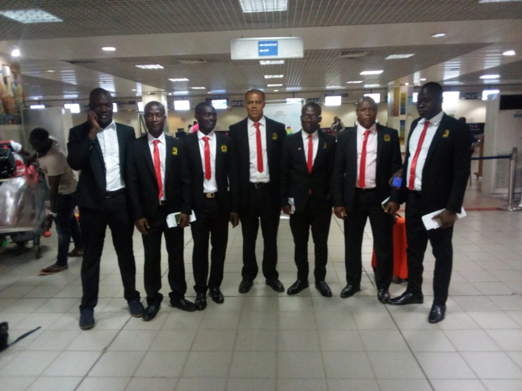 PHOTOS: Asante Kotoko enplane to Congo ahead of CARA Club CAF Confederation Cup clash