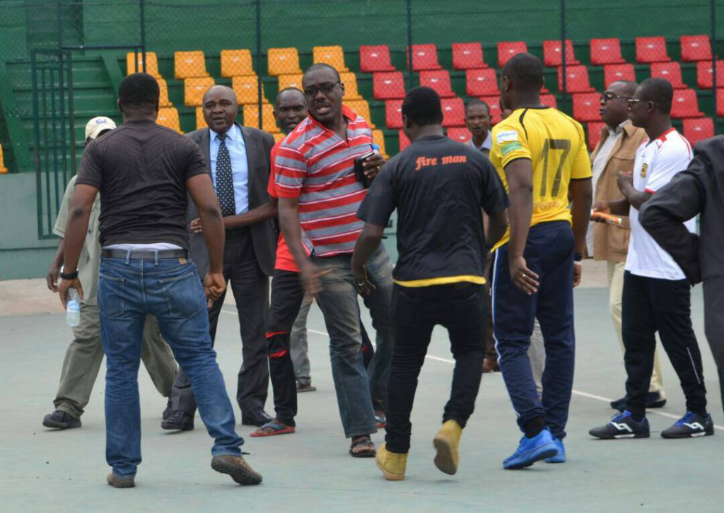 CAF CONFED. CUP: Asante Kotoko brutally manhandled during training in Congo by CARA fans