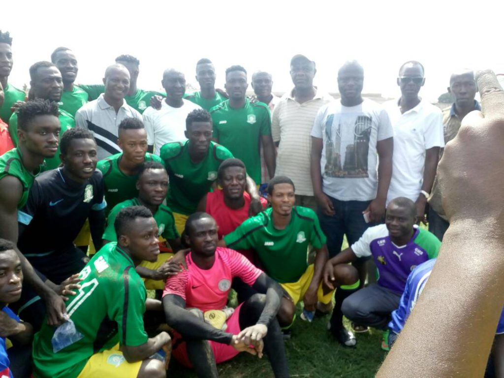 2018 CAF Champions League: Black Stars coach Kwesi Appiah visits Aduana Stars ahead of Al Tahaddy clash