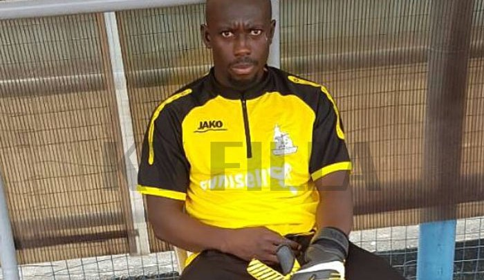 Former Hearts of Oak goalie Samuel Akurugu seal Rivers United switch