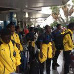PHOTOS: Black Maidens touch down in Djibouti for World Cup qualifiers