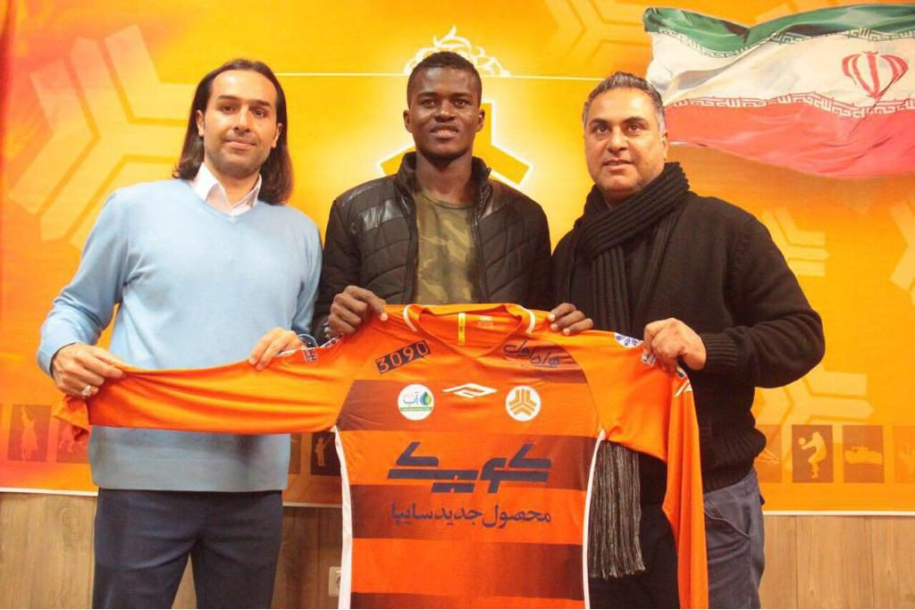 EXCLUSIVE: Ghana defender Samuel Sarfo completes move to Iranian side Saipa FC