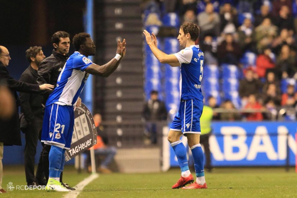 Ghana midfielder Sulley Muntari makes debut appearance for La Liga side Deportivo La Coruna