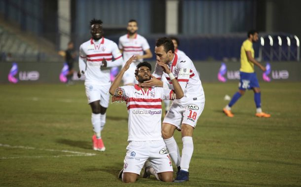 Injured striker Nana Poku ruled out of Zamalek clash against Petrojet on Monday