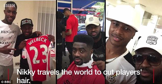 Meet the Ghanaian barber who cuts the hair of Premier League stars